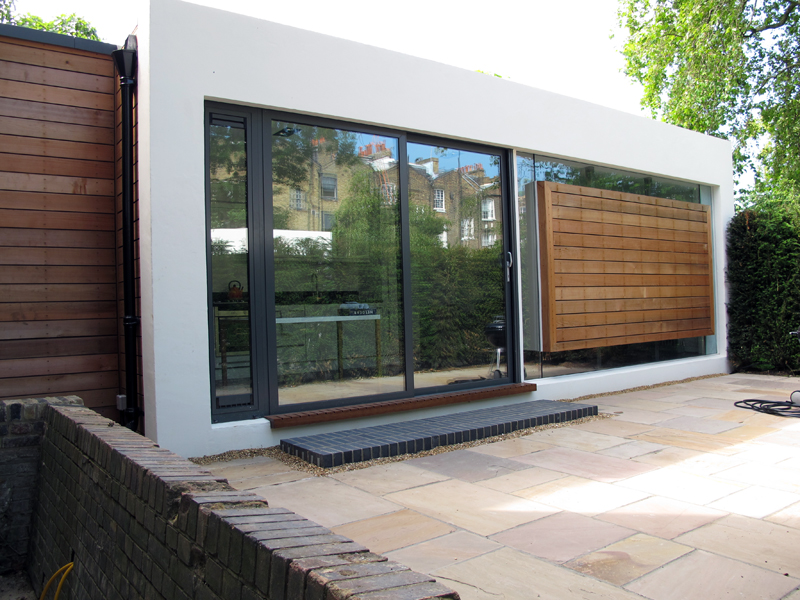 Lloyd House - rear extension RH