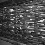 Internal partition wall detail