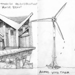 Drawings - architectural houses