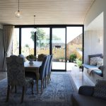 Massive folding doors to inside outside terrace
