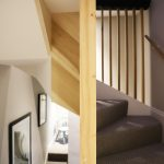 Old and new - stair to loft conversion